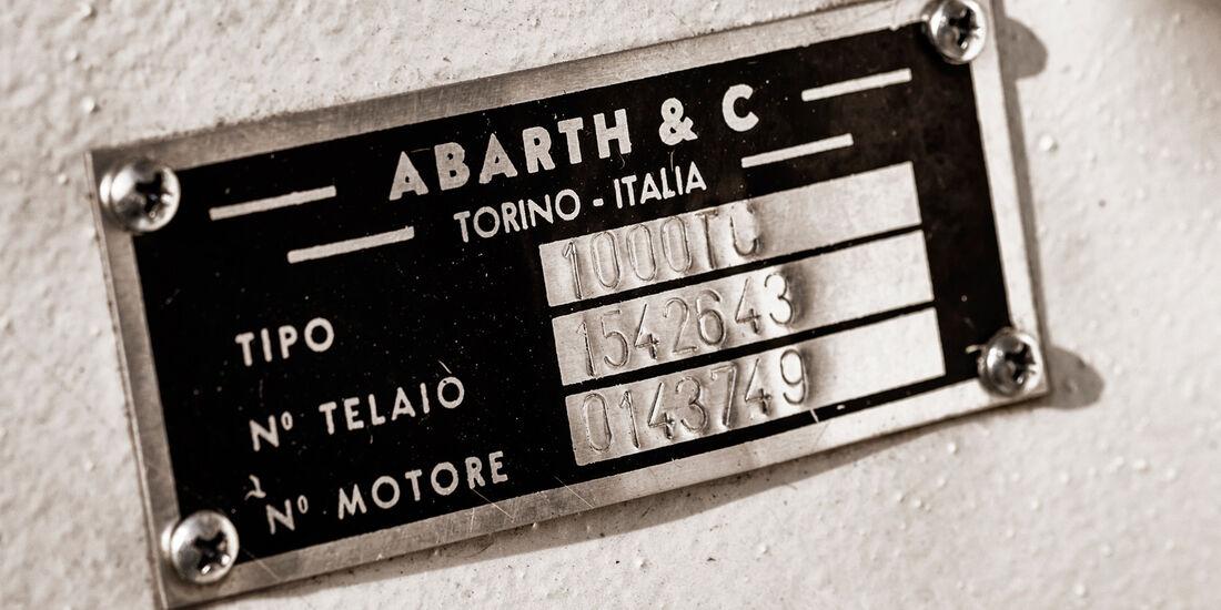 Fiat Abarth 1000 TC, Schild