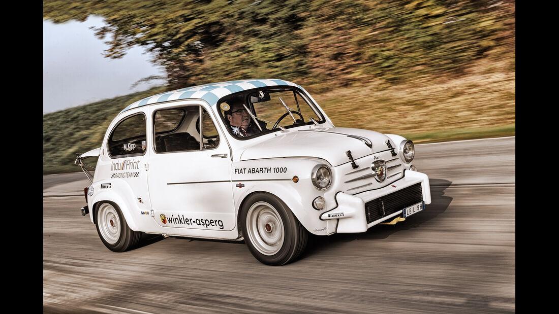 Fiat Abarth 1000 TC, Seitenansicht