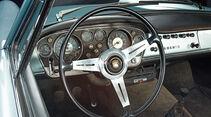 Fiat/Abarth 2400 Allemano, Lenkrad, Rundinstrumente