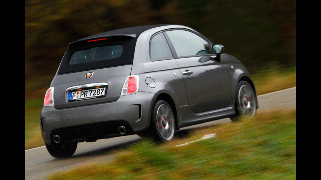 Fiat Abarth 500C, Heck