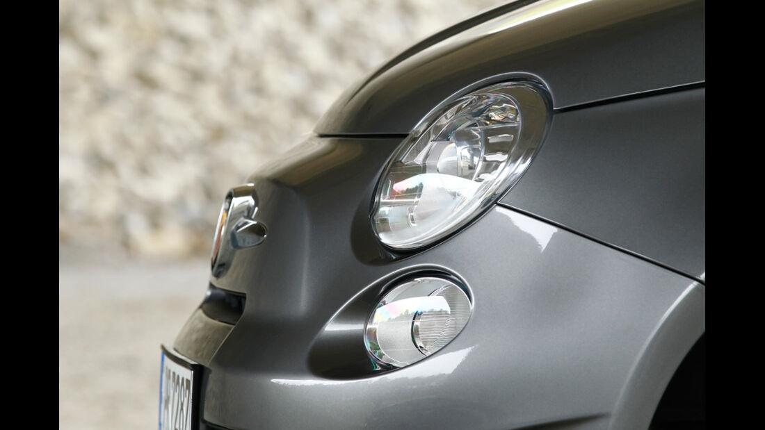 Fiat Abarth 500C, Scheinwerfer
