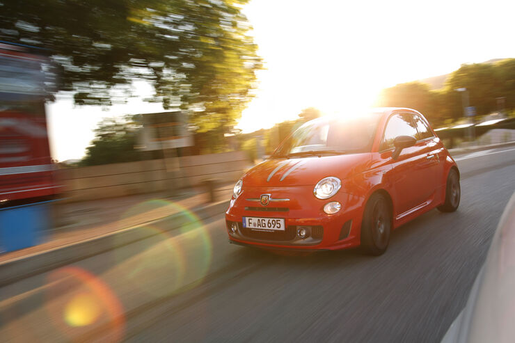 Fiat Abarth 695 Tributo Ferrari, Frontansicht