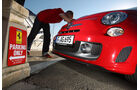 Fiat Abarth 695 Tributo Ferrari, Kühlergrill