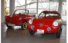 Fiat Abarth Coupé und Autobianchi Bianchina Cabrio
