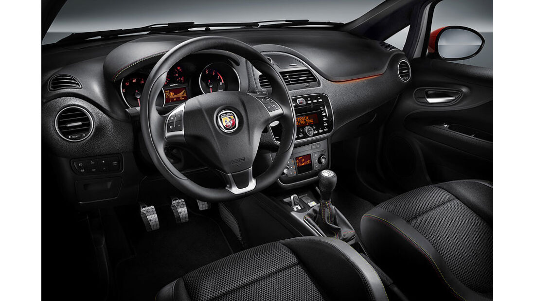 Fiat Abarth Punto Evo Innenraum
