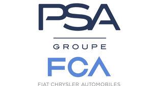 Fiat Chrysler FCA PSA Logo