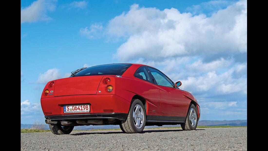 Fiat Coupé 16V, Heckansicht
