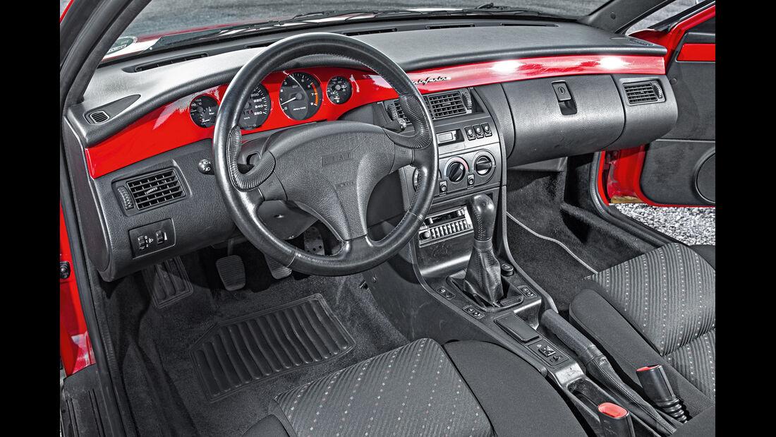 Fiat Coupé, Cockpit