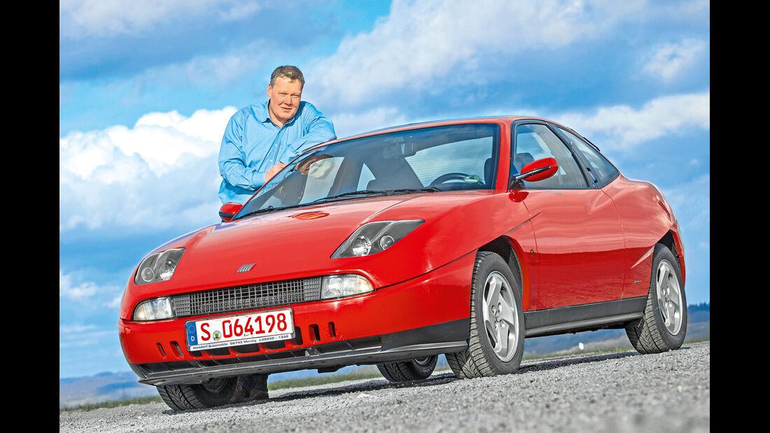 Fiat Coupé, Frontansicht