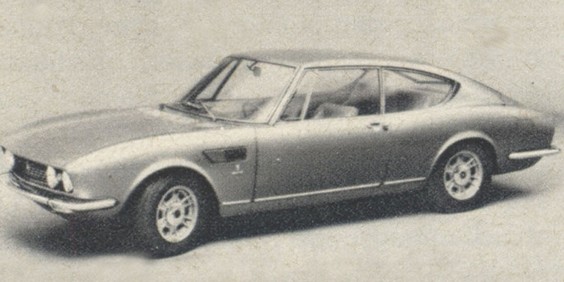 Fiat, Dino, Coupé, IAA 1967