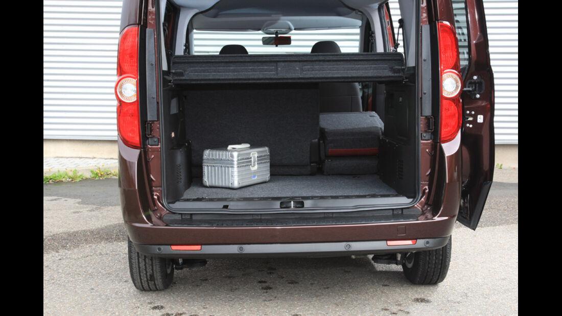 Fiat Doblo 2.0 16V Multijet, Kofferraum
