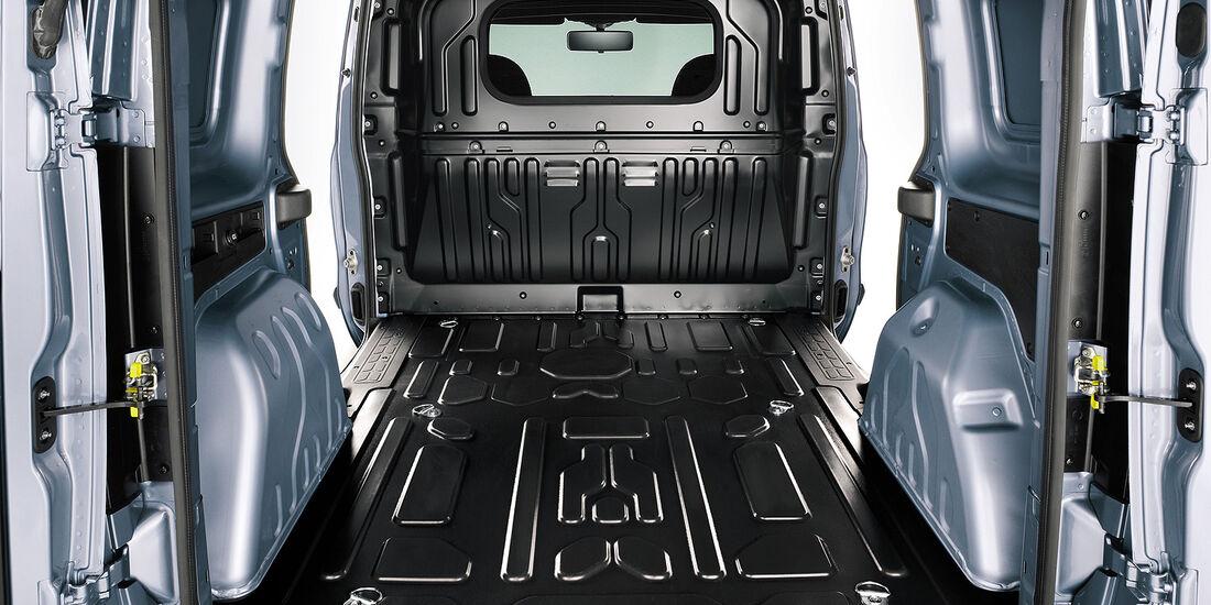 Fiat Doblo Cargo 2013, Laderaum