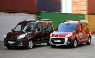 Fiat Doblo und Peugeot Partner Tepee