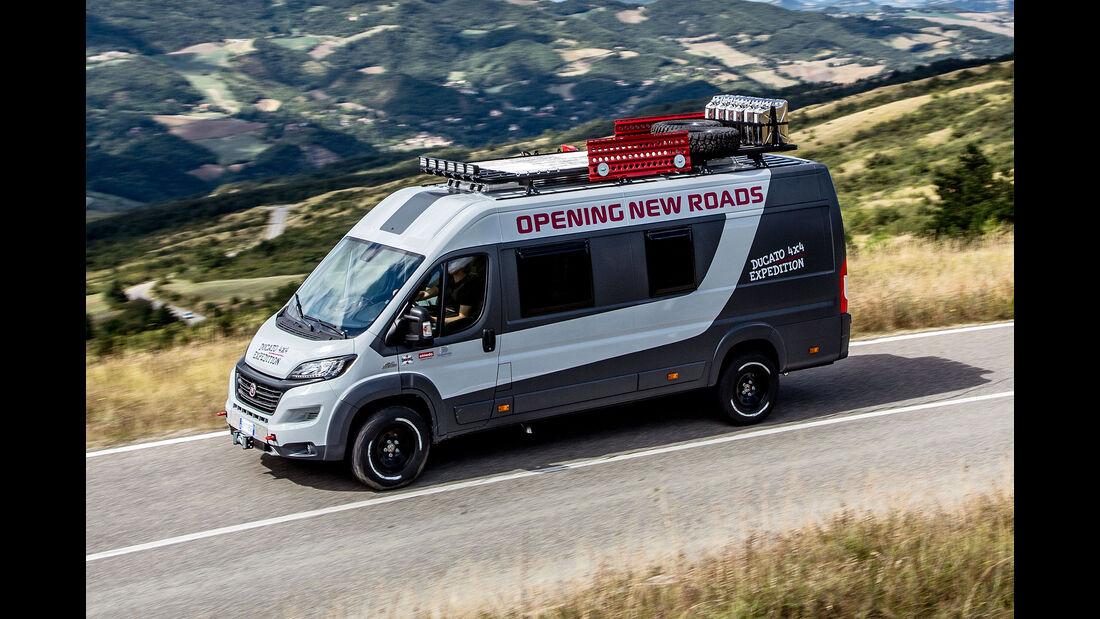 Fiat Ducato 4x4 Expedition Konzept