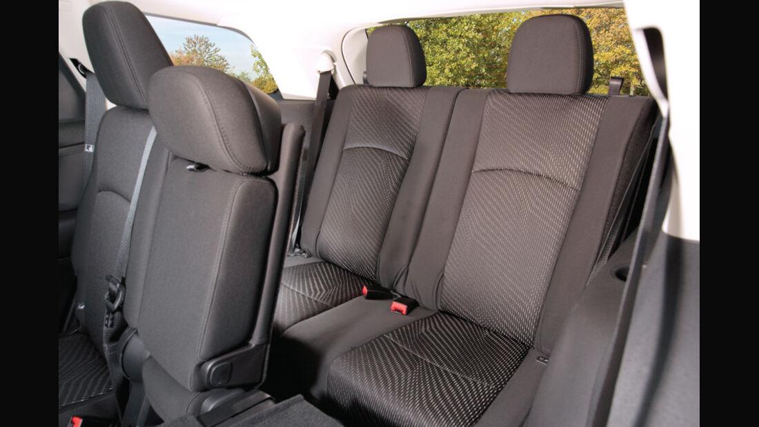 Fiat Freemont 2.0 Multijet Urban, Innenraum, Sitze