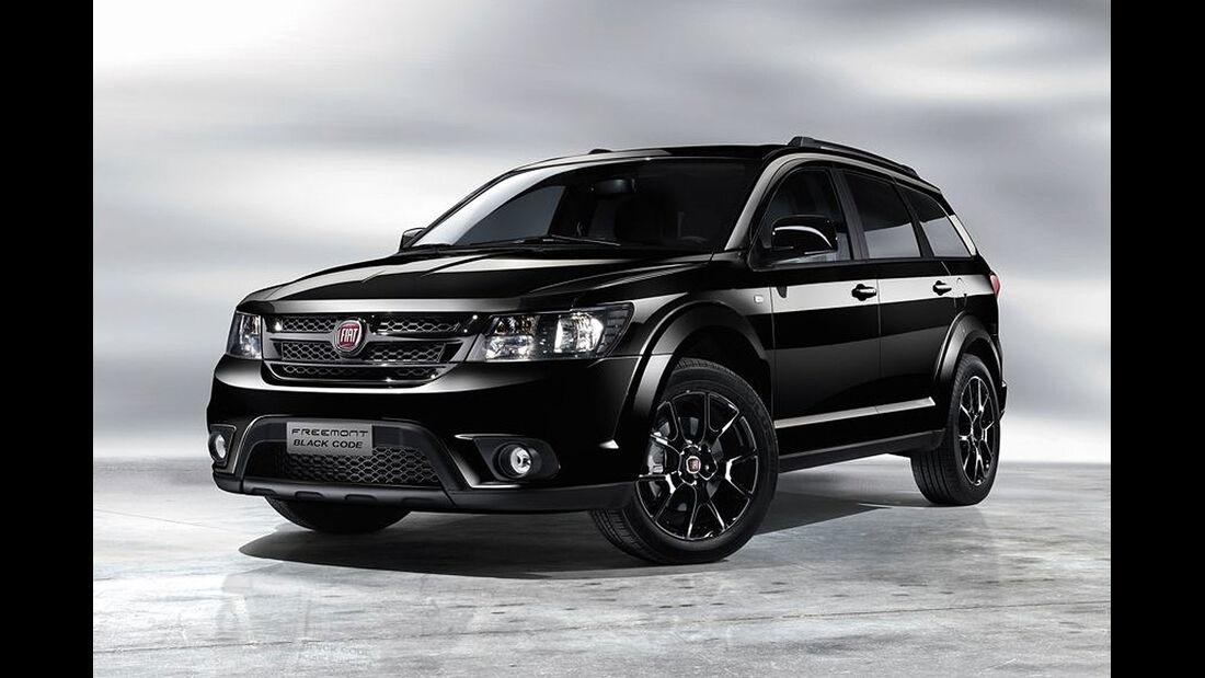 Fiat Freemont Black Code