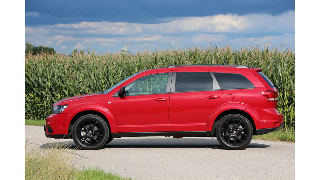 Fiat Freemont Multijet Black Code Test