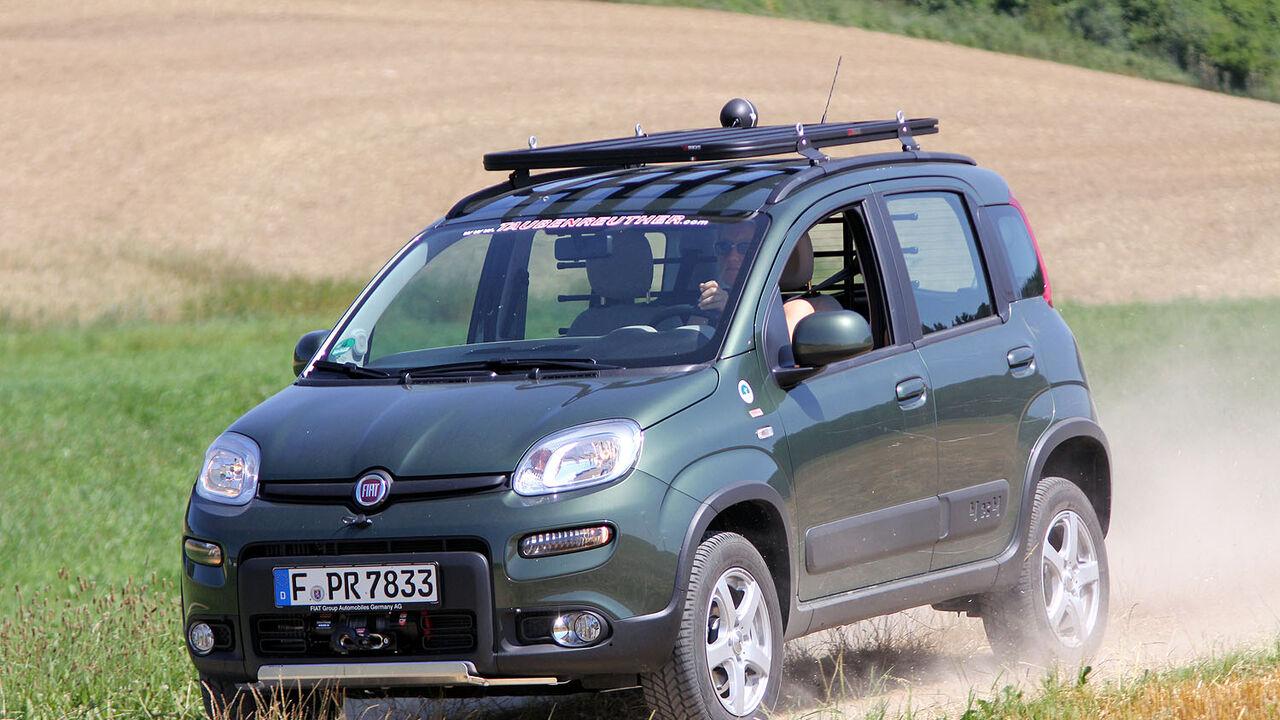 Fiat Panda 1 3 16v Multijet 4x4 Im Test Auto Motor Und Sport