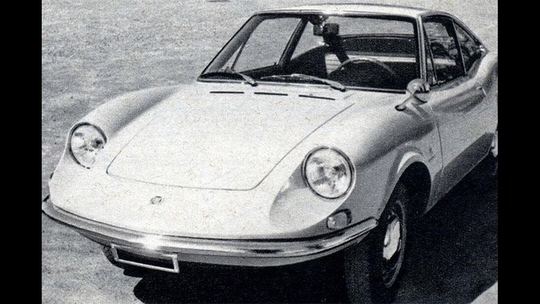 Fiat, Moretti Coupé 124, IAA 1969