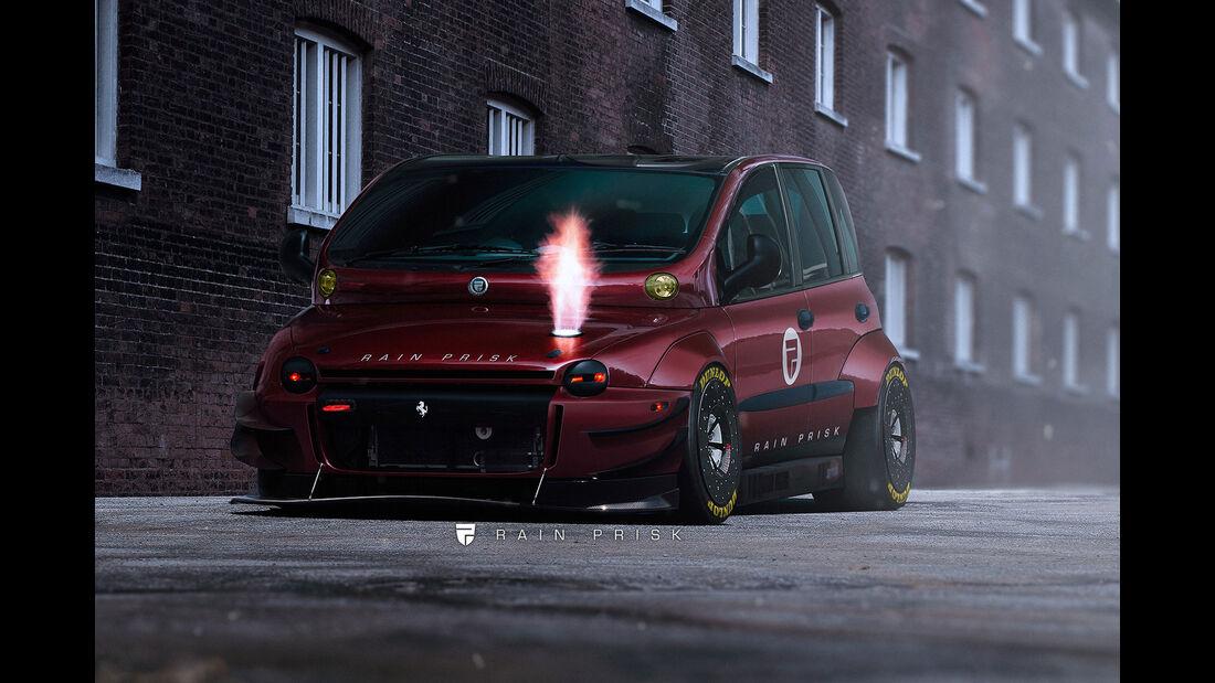 Fiat Multipla - Design-Konzept - Grafikkünstler Rain Prisk