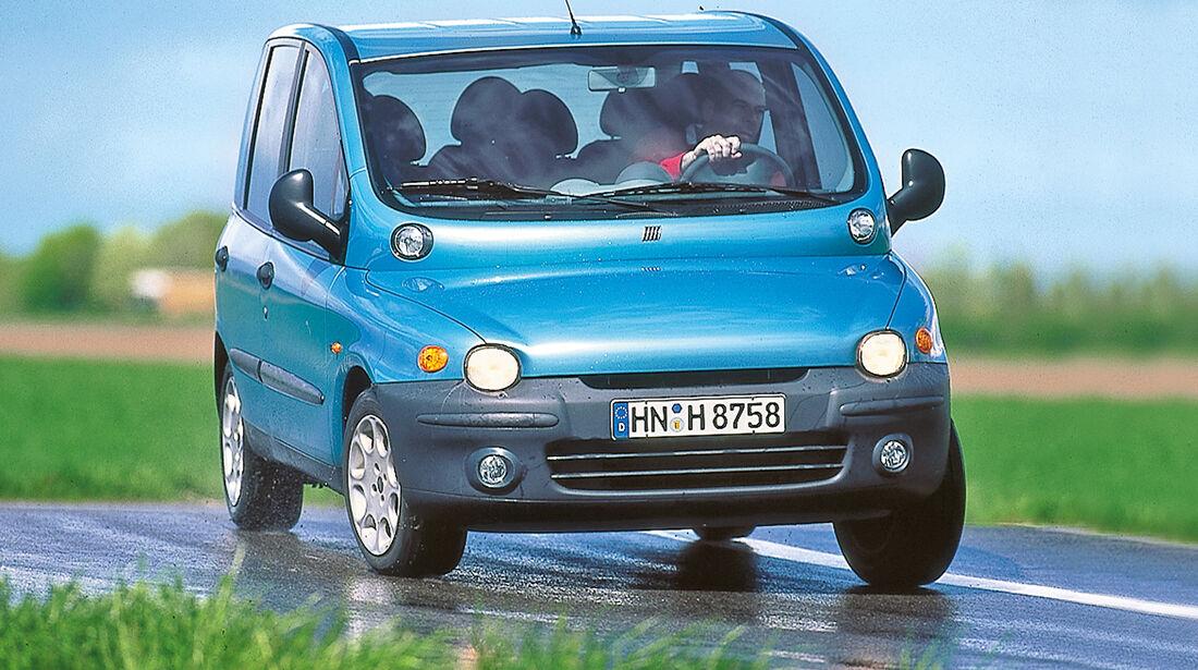 Fiat Multipla, Frontansicht