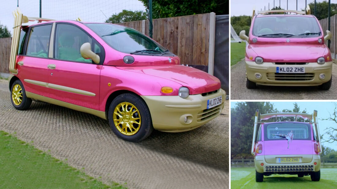 Fiat Multipla Pink eBay Auktion UK