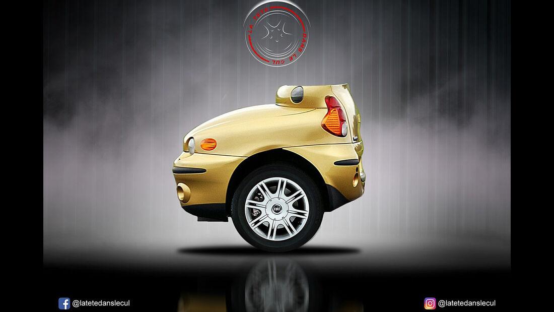 Fiat Multipla Retusche