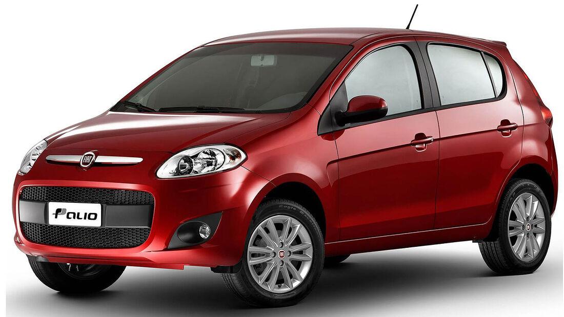 Fiat Novo Palio Brasilien