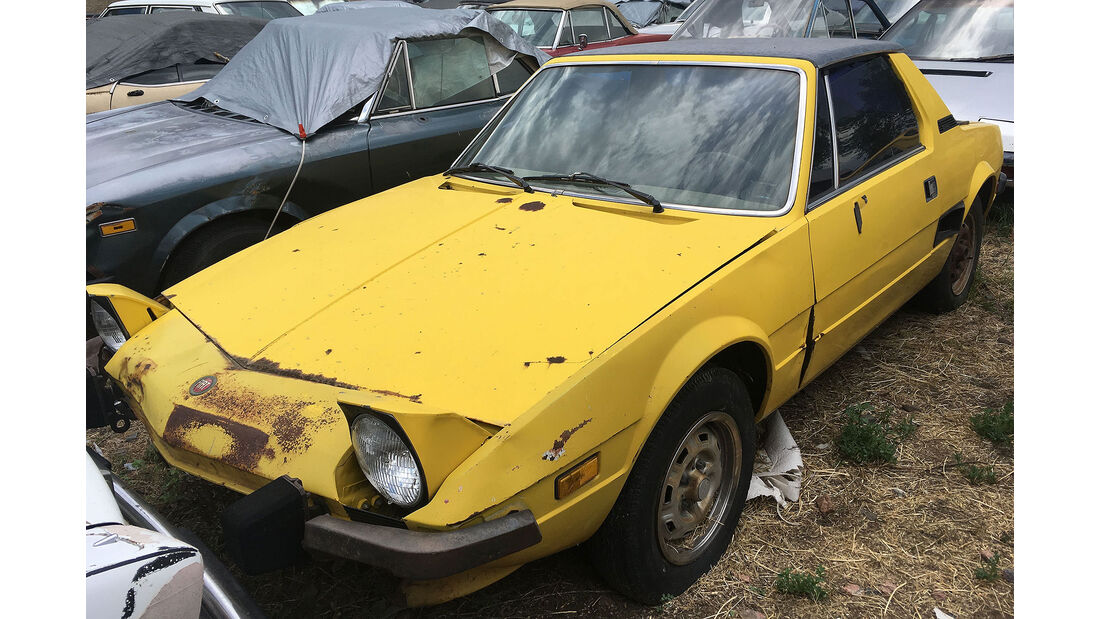 Fiat Oldtimer Versteigerung USA