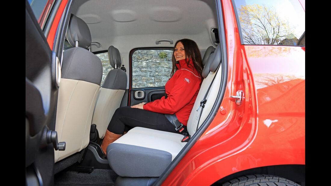 Fiat Panda 0.9 8V Natural Power Lounge, Fondsitz, Beinfreiheit