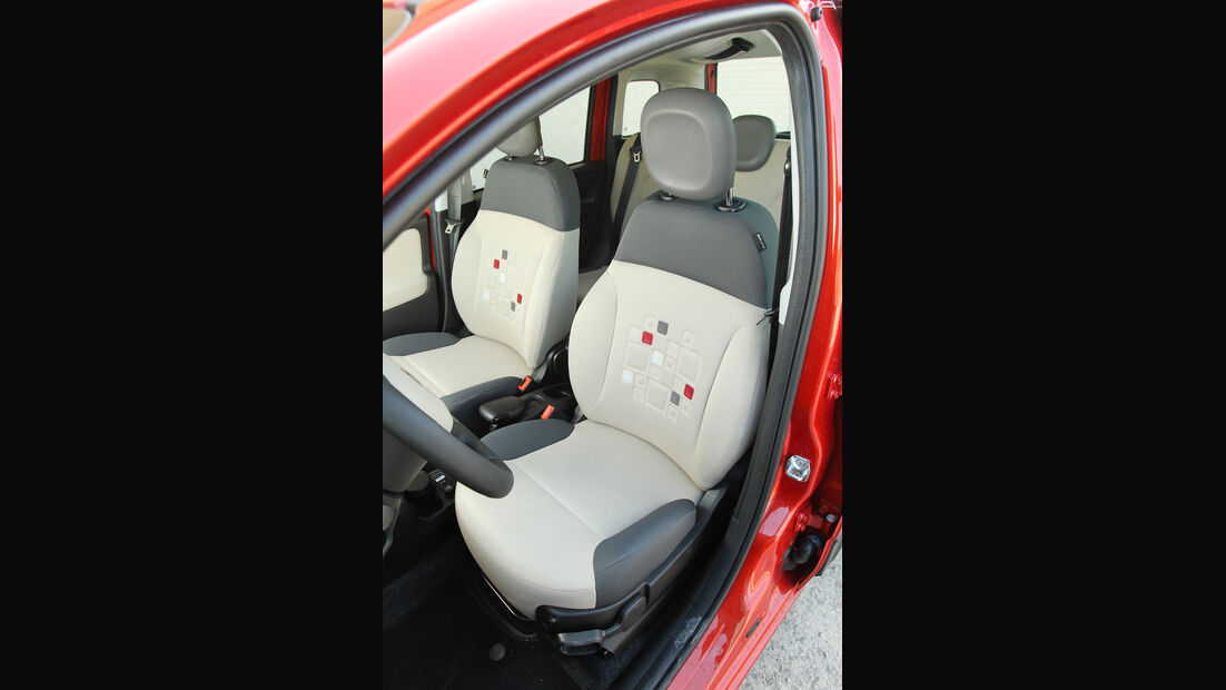 Fiat Panda 0.9 Twinair, Fahrersitz
