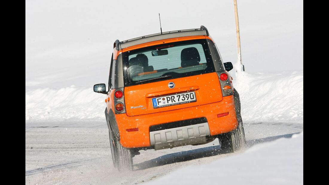 Fiat Panda 1.2 4x4, Heckansicht