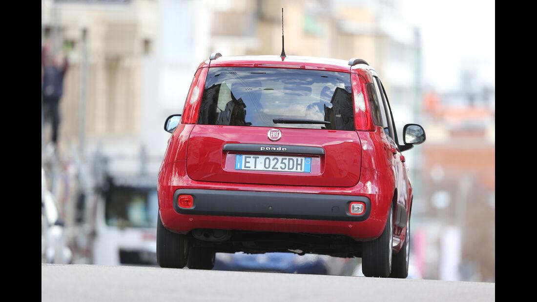 Fiat Panda 1.2 8V, Heckansicht