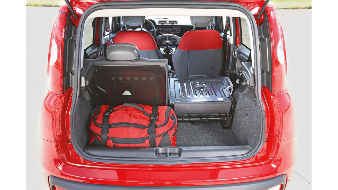 Fiat Panda 1.2 8V, Kofferraum