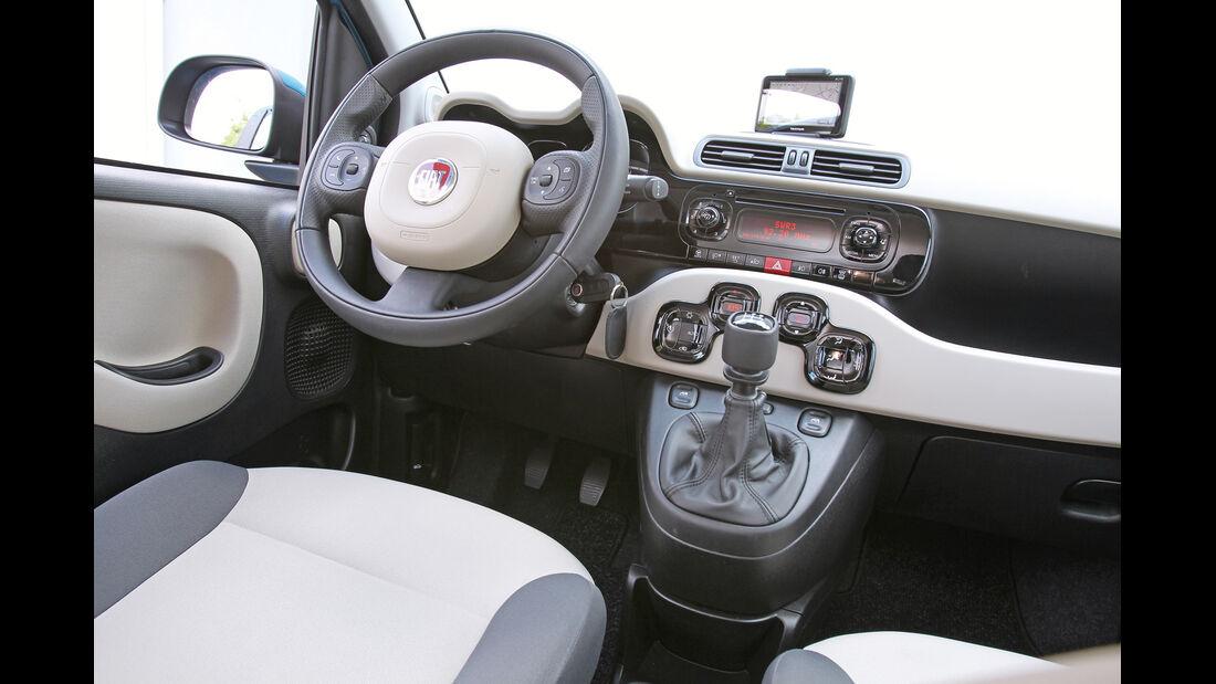 Fiat Panda 1.2 8V Lounge, Cockpit