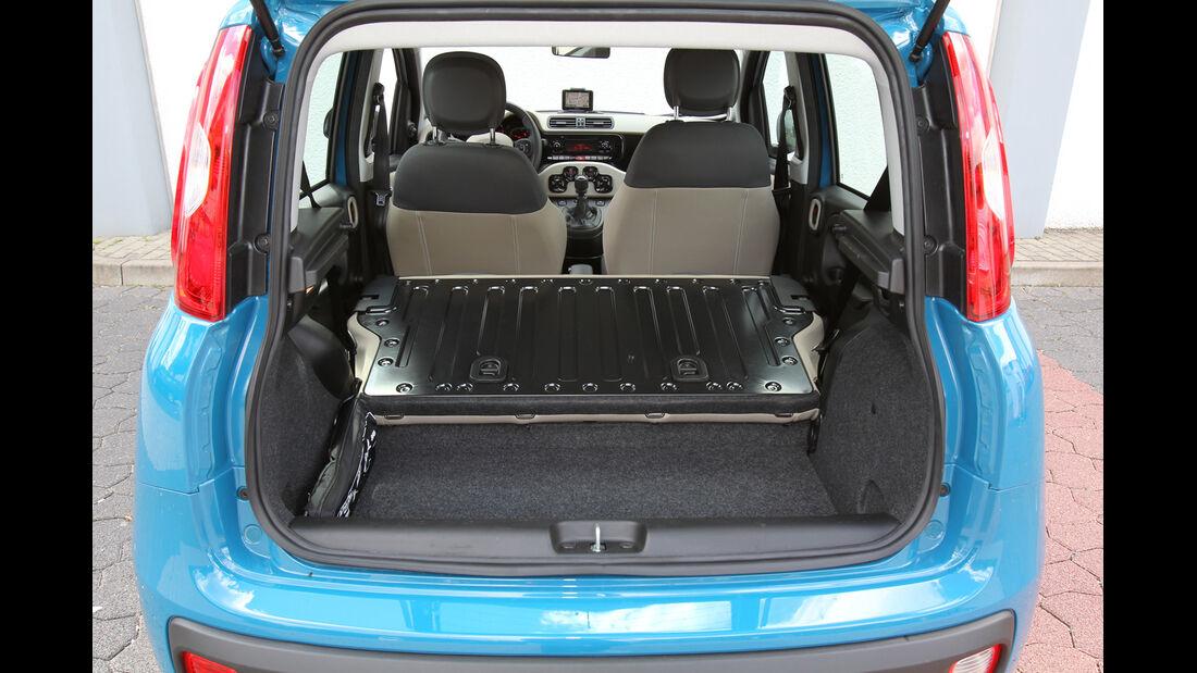 Fiat Panda 1.2 8V Lounge, Kofferraum, Ladefläche