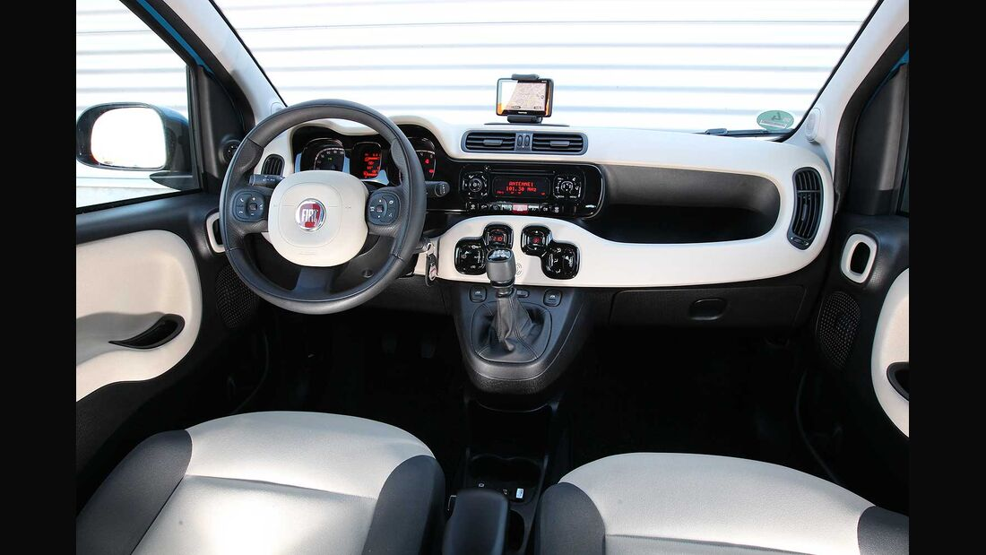 Fiat Panda 1.2, Cockpit