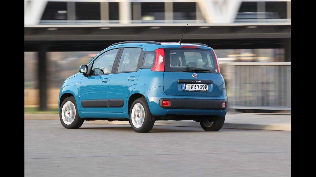 Fiat Panda 1.2, Heckansicht