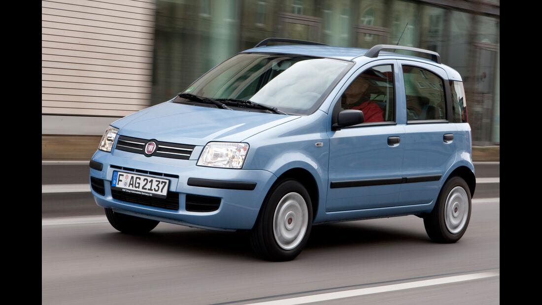 Fiat Panda 1.2 Natural Power, Frontansicht