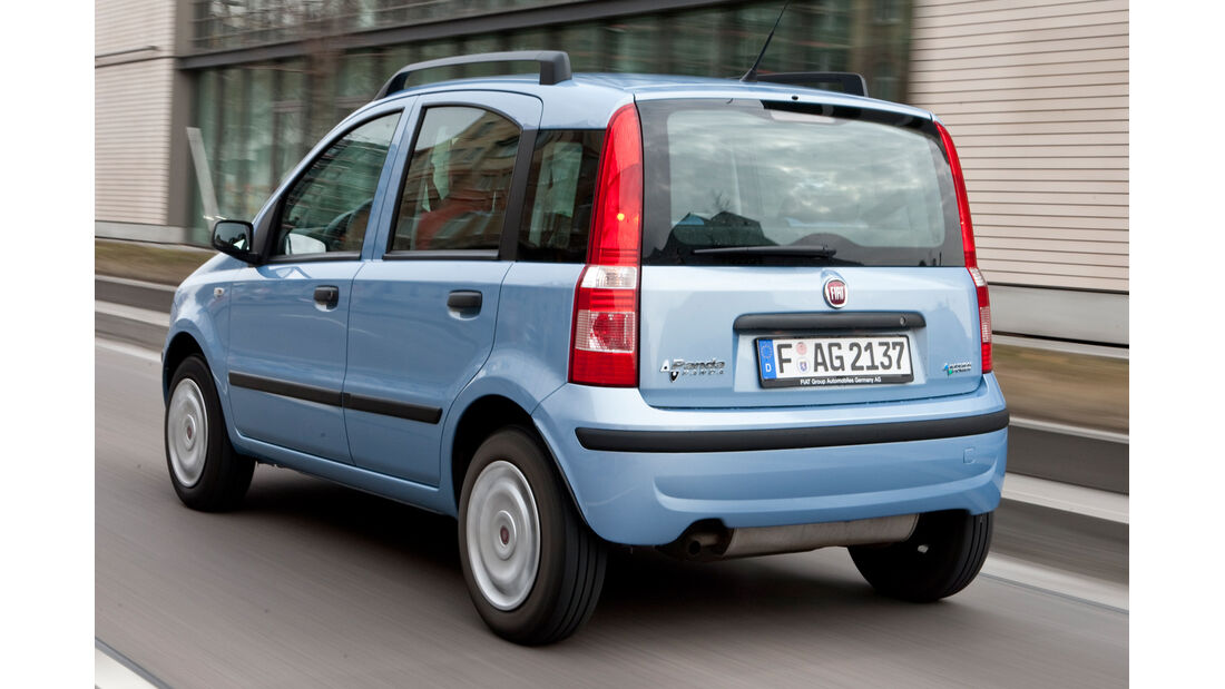 Fiat Panda 1.2 Natural Power, Heckansicht