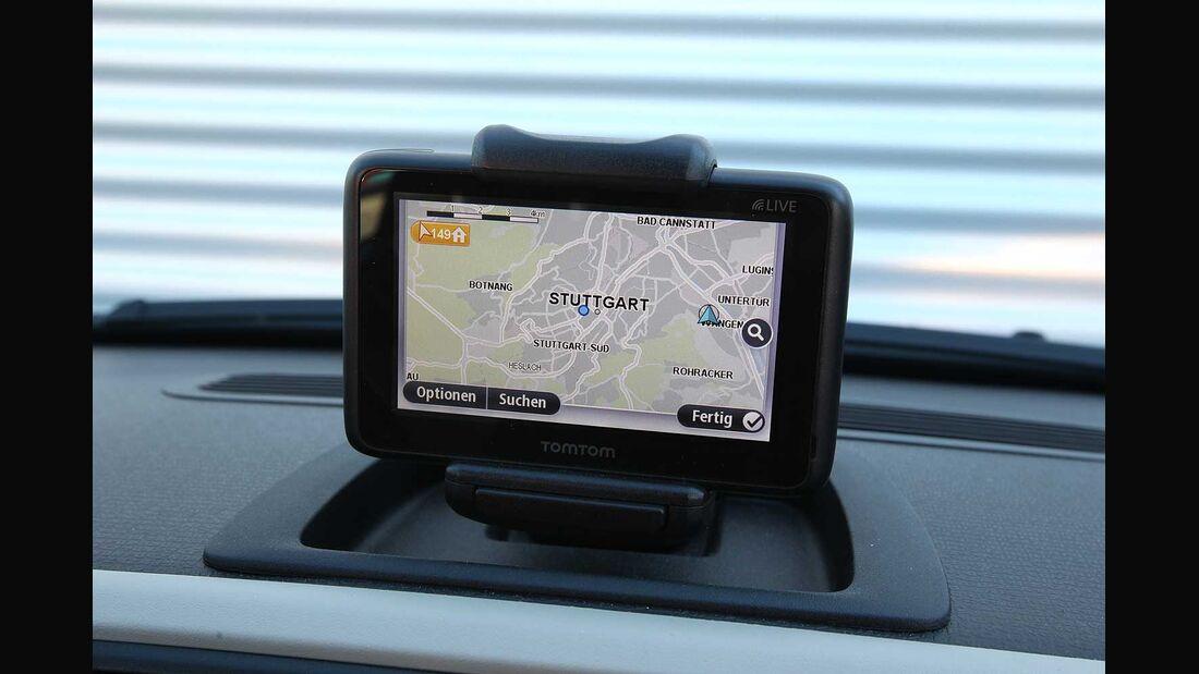 Fiat Panda 1.2, Navigation