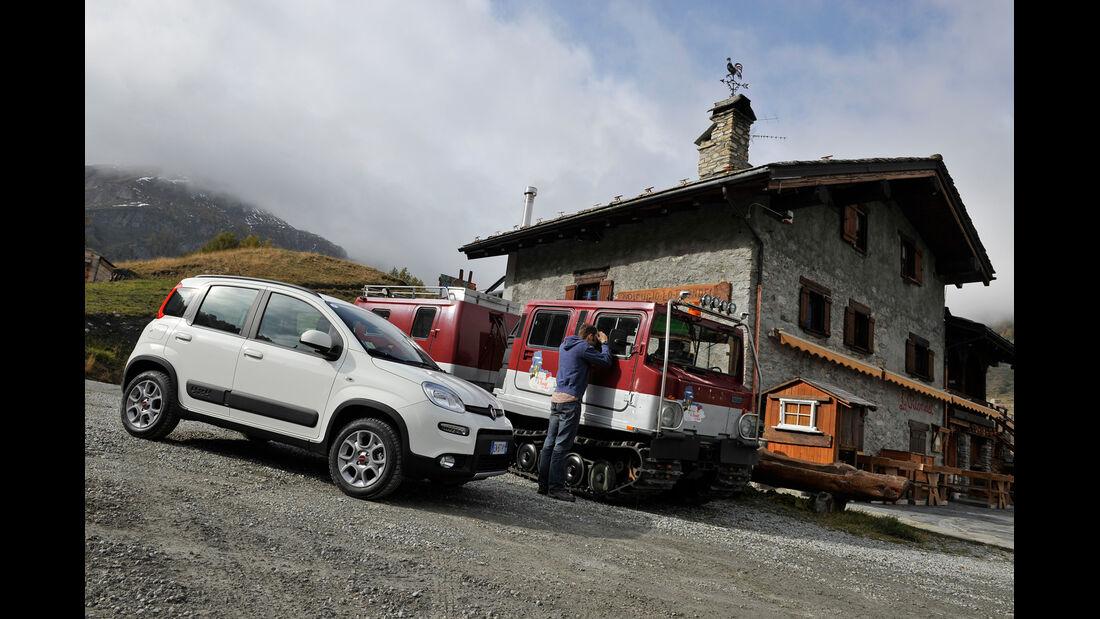 Fiat Panda 1.3 16V Multijet 4X4, Seitenansicht