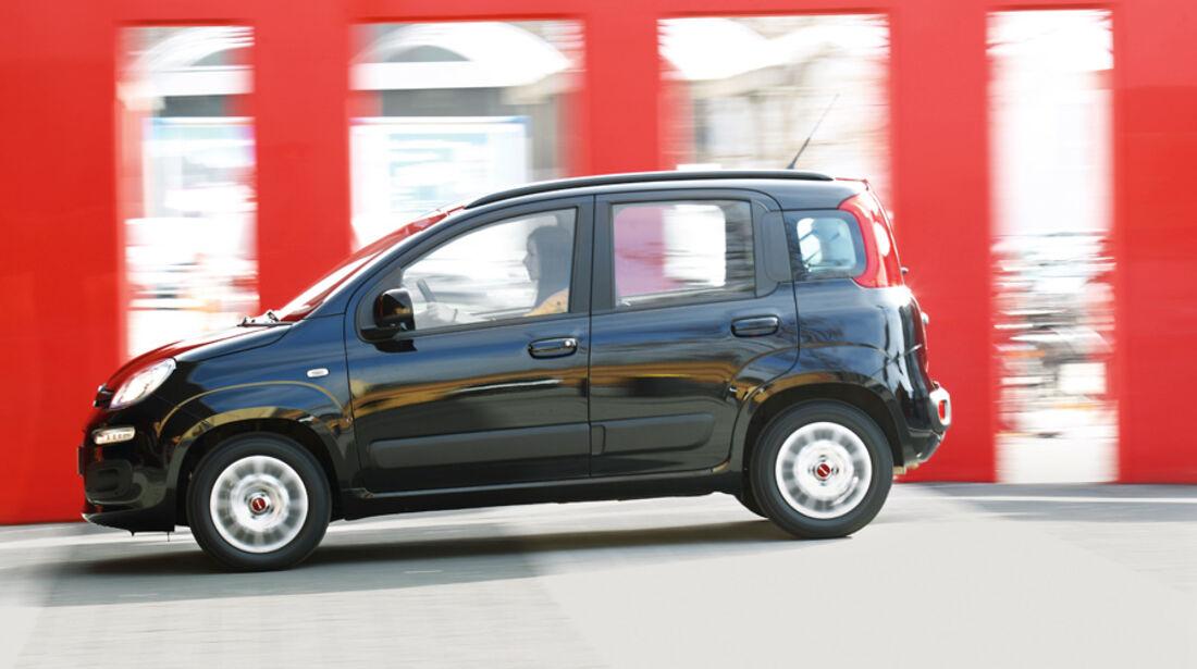 Fiat Panda 1.3 Multijet 16V Lounge, Seitenansicht