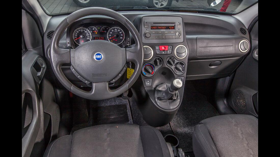 Fiat Panda 100 HP, Cockpit