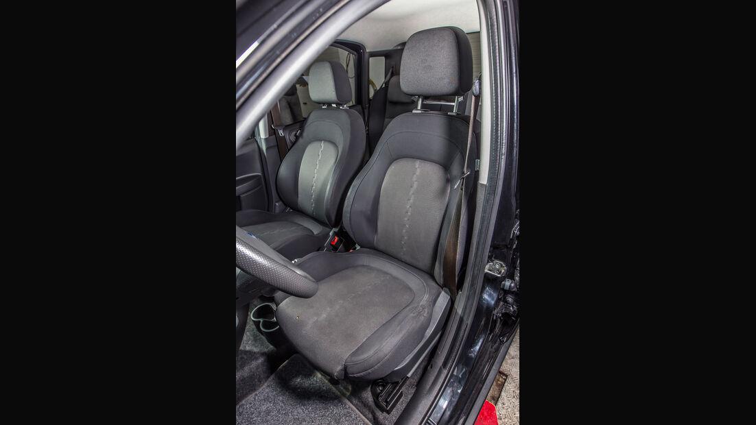 Fiat Panda 100 HP, Fahrersitz