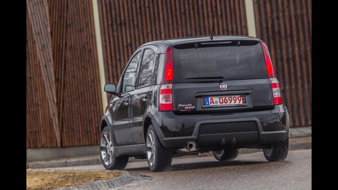 Fiat Panda 100 HP, Heckansicht