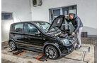 Fiat Panda 100 HP, Motorhaube