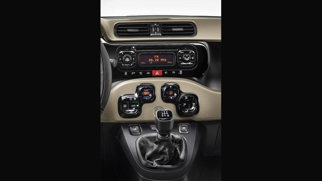 Fiat Panda, 3. Generation, Cockpit