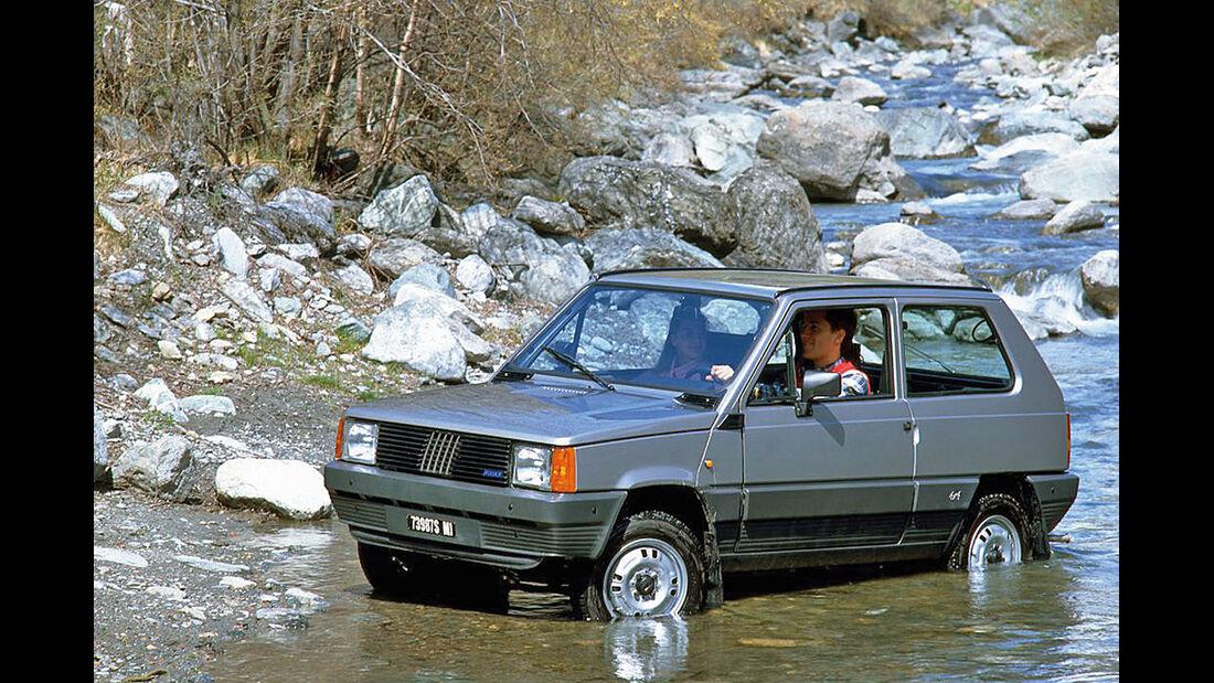 Fiat Panda 4 x 4, Seitenansicht