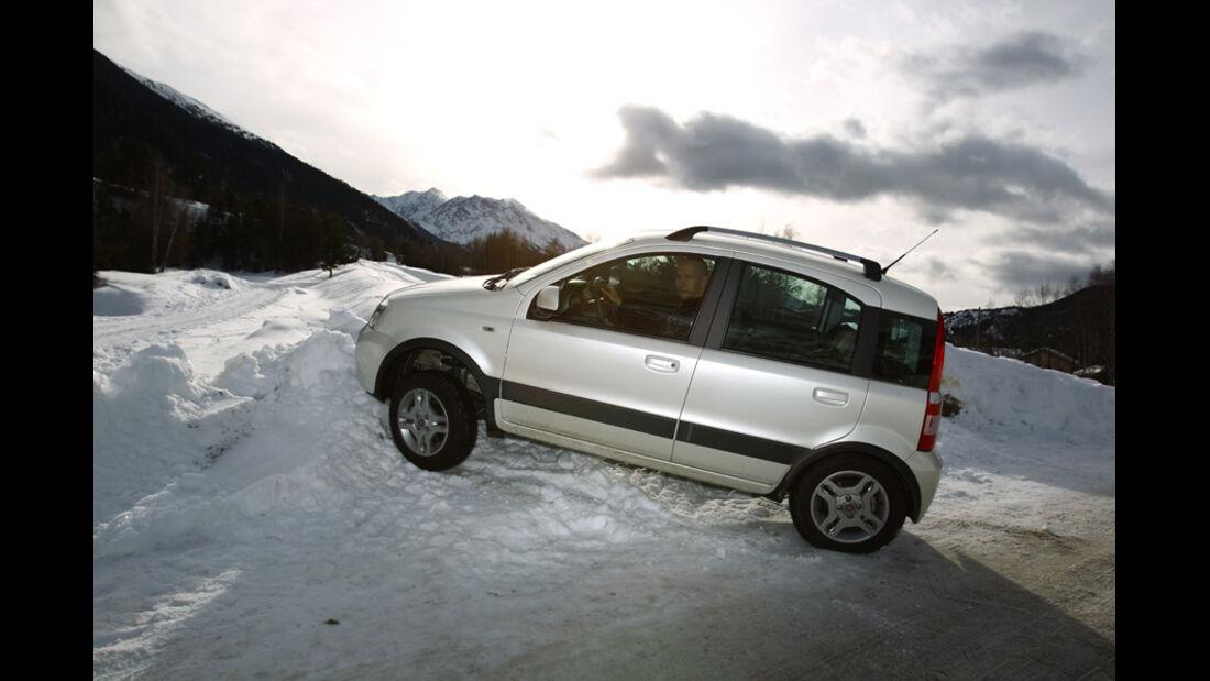 Fiat Panda 4X4, Seitenansicht